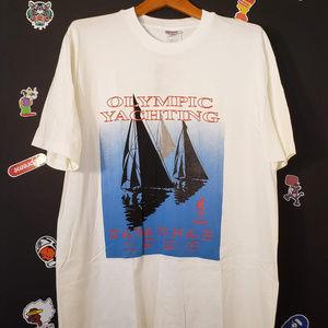 1996 Olympic Yachting Dead Stock SIngle Stitch XXL